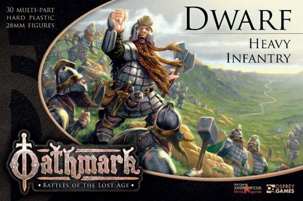 28mm Fantasy: (Oathmark) Dwarf Heavy Infantry