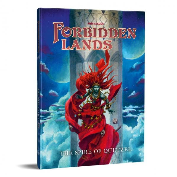 Forbidden Lands - Quetzel's Spire Scenario Compendium