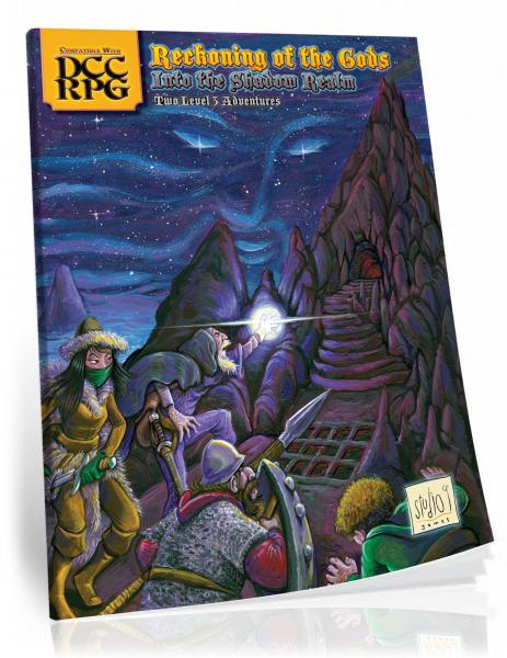 Dungeon Crawl Classics: Reckoning of the Gods - Into the Shadow Realm