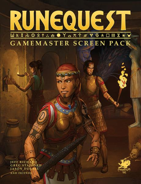 RuneQuest Gamemaster Screen Pack