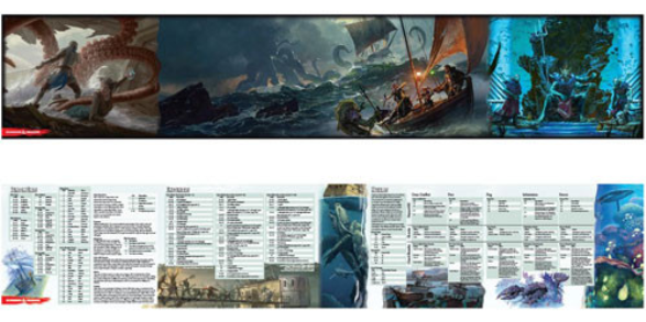 Of Ships & The Sea - DM Screen