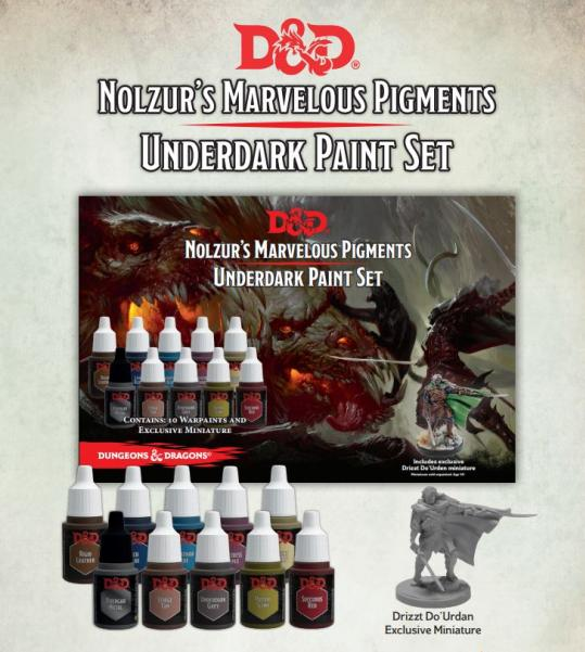 Nolzur's Marvelous Pigments – Underdark Paint Set