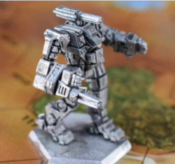 Battletech Miniatures: Quickdraw QKD-8P Mech - 60 Tons - TRO Prototypes
