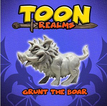Grunt The Boar