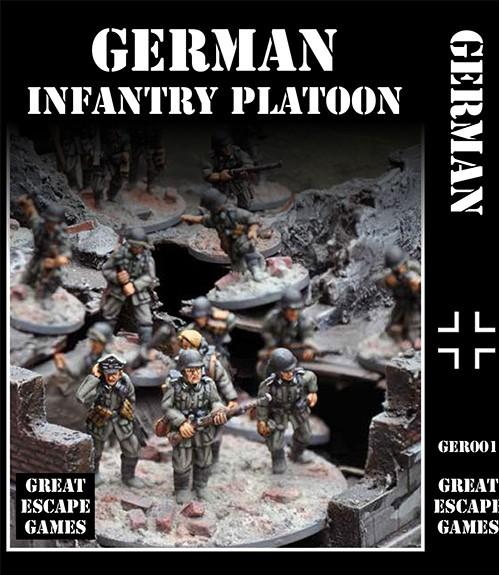 WWII: German Platoon – Summer Uniform