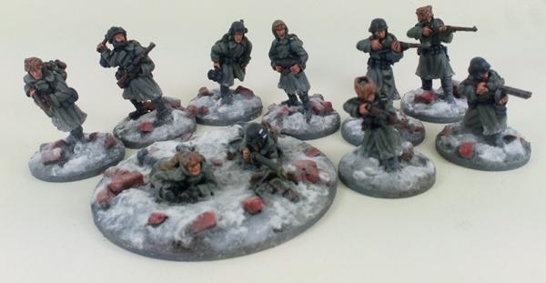 German Stalingrad Veterans Squad A – Winter Uniform