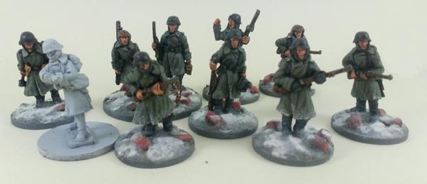 German Stalingrad Veterans Squad B – Winter Uniform