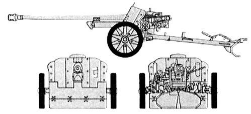 German Stalingrad Veterans PaK38 Anti-tank Gun & Crew - Winter Uniform