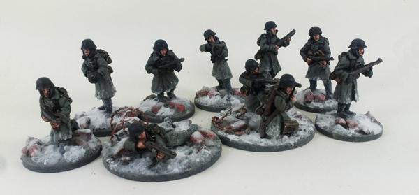 German Stalingrad Veterans Assault Squad – Winter Uniform