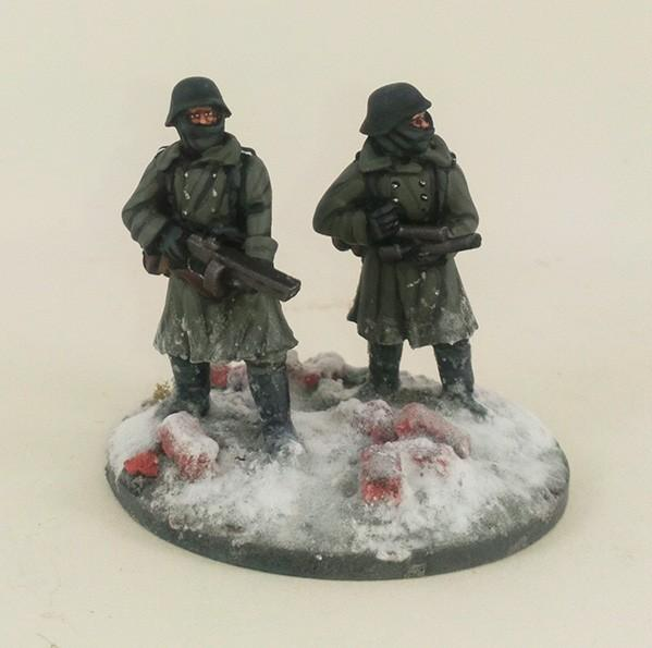 German Stalingrad Veterans Flamethrower – Winter Uniform