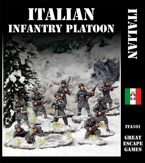 Italian Platoon – Winter Uniform