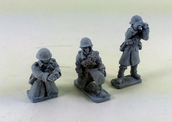 Italian Anti-tank Gun Crew – Winter Uniform