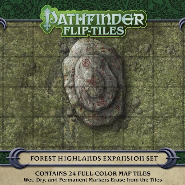 Pathfinder Flip-Tiles: Forest Highlands Expansion
