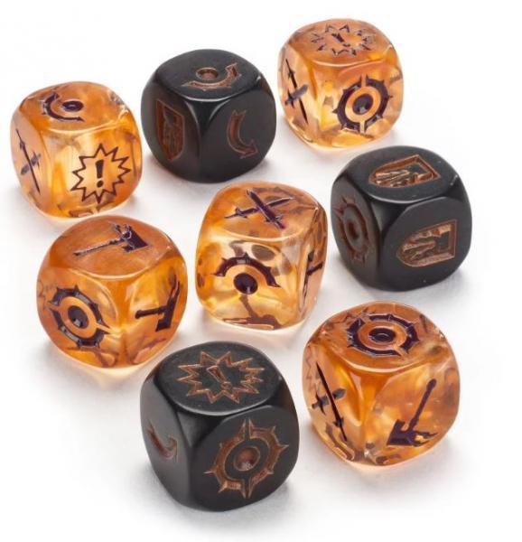 Warhammer Underworlds: THUNDRIK'S PROFITEERS DICE SET