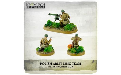 Kromlech Miniatures: Polish Army wz. 30 Heavy Machine Gun Team