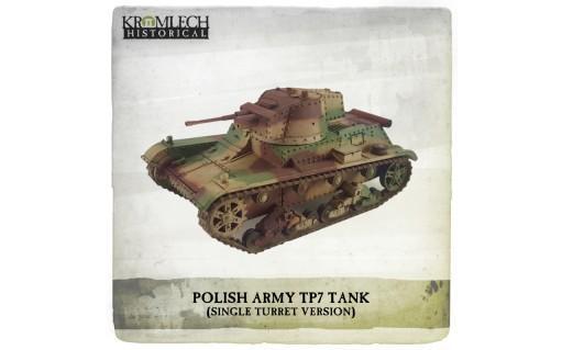 Kromlech Miniatures: Polish Army 7TP tank