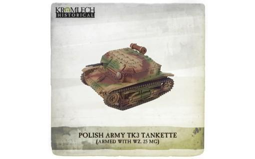Kromlech Miniatures: Polish Army TK3 Tankette