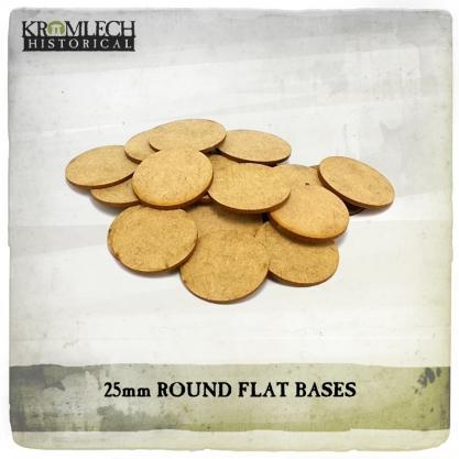 Kromlech Miniatures: 25mm Flat Bases (1.5mm HDF) (50)