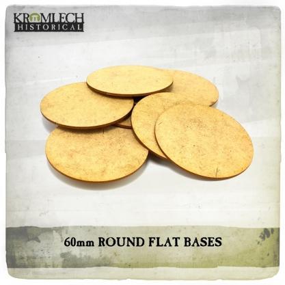 Kromlech Miniatures: 60mm Flat Bases (1.5mm HDF) (13)