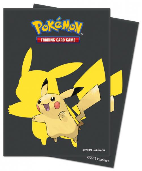 Pokemon CCG: Pikachu 2019 Deck Protectors (65)