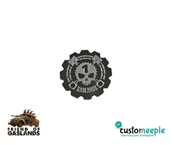 Gaslands: (Accessory) GASLANDS COMPATIBLE FIRST PLAYER TOKEN