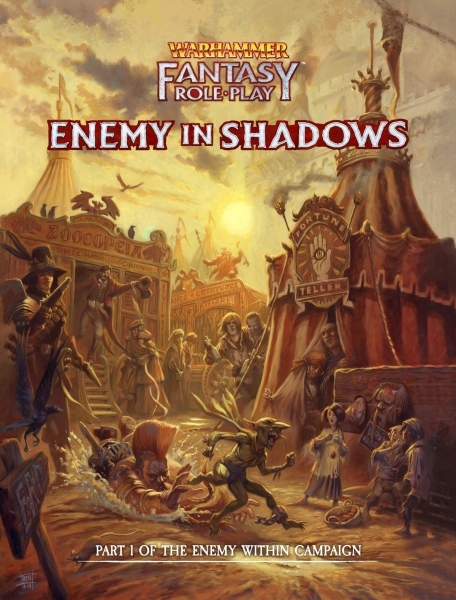Warhammer Fantasy RPG: Enemy in Shadows vol1