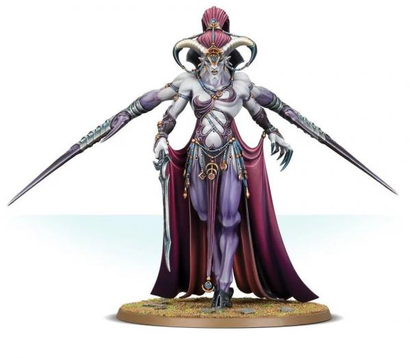 Age of Sigmar: Daemons of Slaanesh Keeper of Secrets
