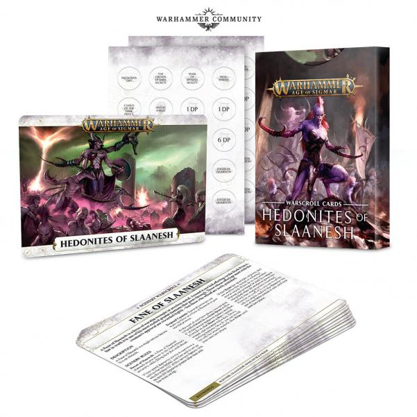 Age of Sigmar: Warscrolls: Hedonites of Slaanesh