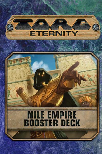 TORG Eternity RPG: Nile Empire Booster Deck