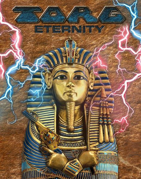 TORG Eternity RPG: Nile Empire Sarcophagus Box - Regular