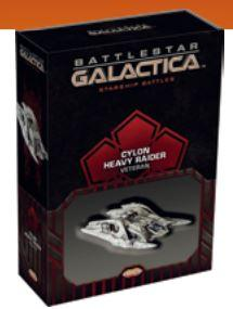 Battlestar Galactica: Spaceship Pack:  Cylon Heavy Raider (Veteran)