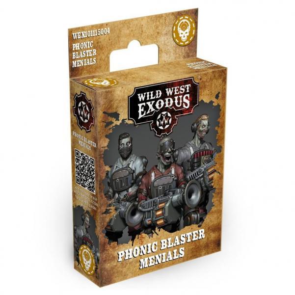 Wild West Exodus: Phonic Blaster Menials