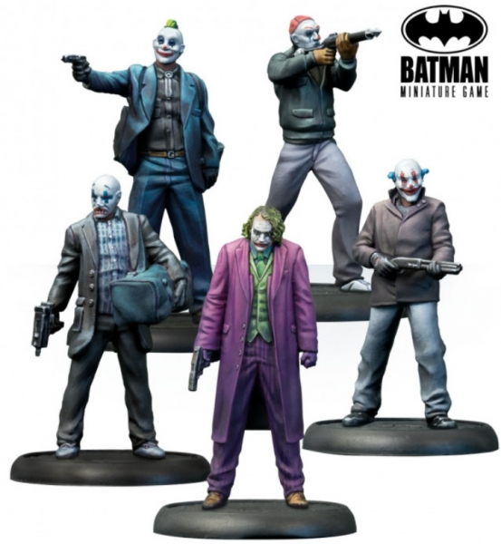 Batman Miniature Game: The Joker - Why So Serious?
