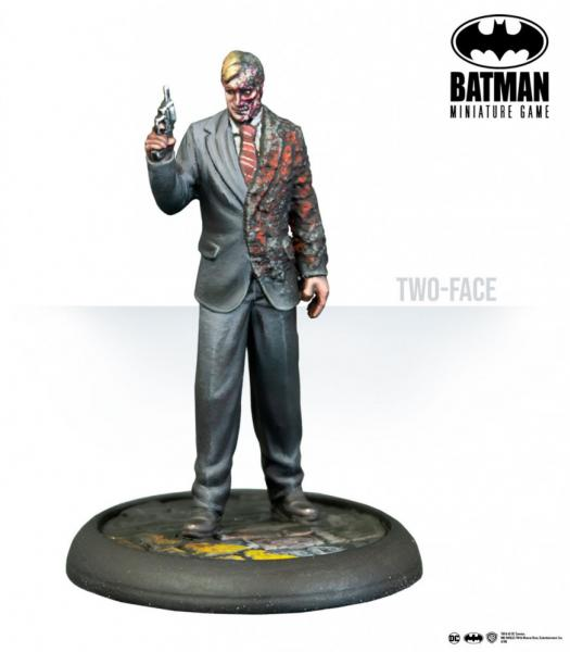 Batman Miniature Game: The White Knight & Two Face