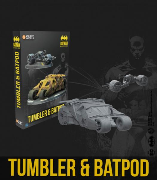 Batman Miniature Game: Tumbler & Batpod