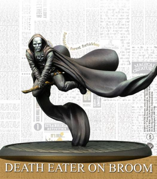 Harry Potter Miniature Game: DEATH EATERS ON BROOM