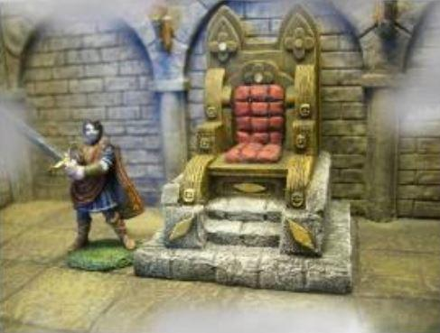 28mm Terrain: Ruler Throne