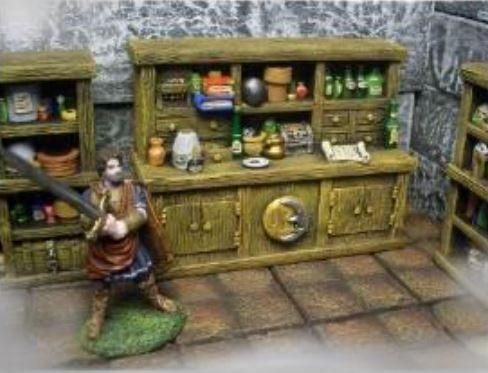 28mm Terrain: Alchemists Cabinet