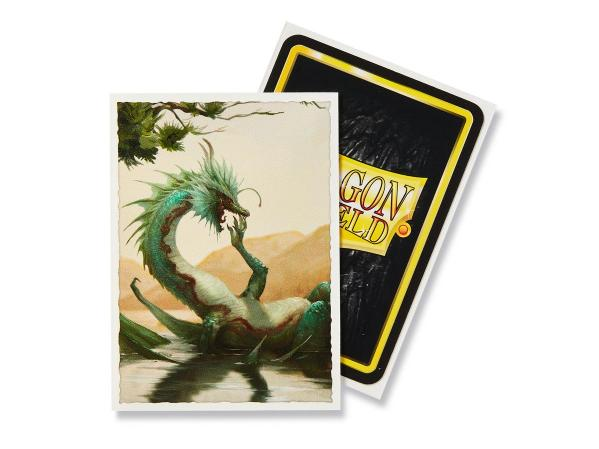 Dragon Shield Art Sleeves: Summer Dragon Matte Art (100 Sleeves)