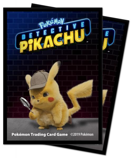 Pokemon CCG: Detective Pikachu (Pikachu) Deck Protectors (65)
