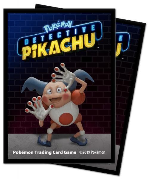 Pokemon CCG: Detective Pikachu (Mr. Mime) Deck Protectors (65)