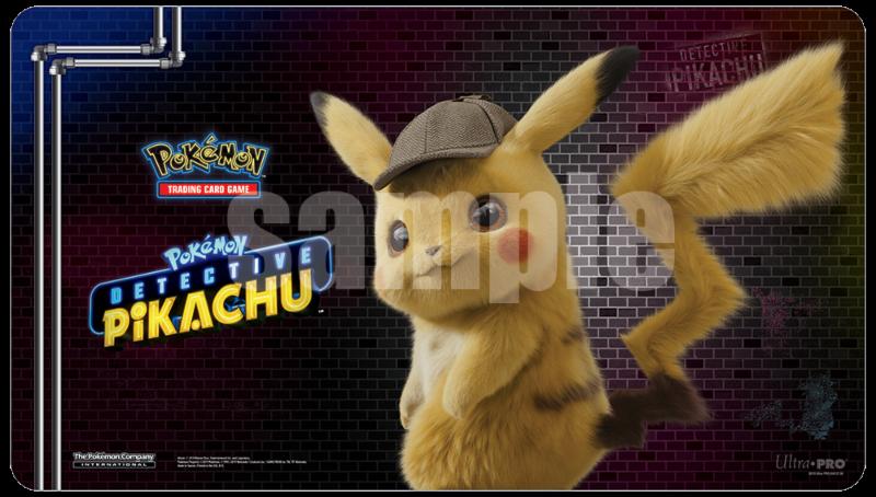 Pokemon CCG: Detective Pikachu (Pikachu) Playmat