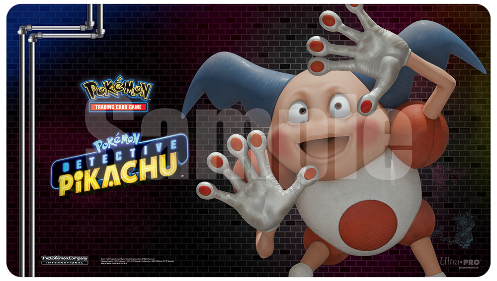 Pokemon CCG: Detective Pikachu (Mr. Mime) Playmat