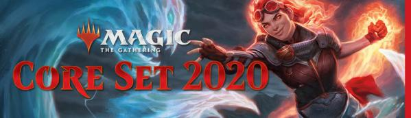 Magic the Gathering CCG: Core Set 2020 Land Station (400 Cards)