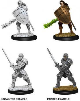 D&D Minis: Male Human Fighter