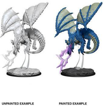 D&D Minis: Young Blue Dragon