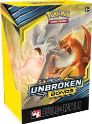 Pokemon TCG: Sun & Moon - Unbroken Bonds Build & Battle Box