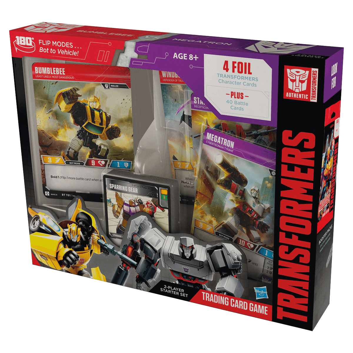 Transformers TCG: Rise of the Combiners Bumblebee Vs. Megatron Starter Deck