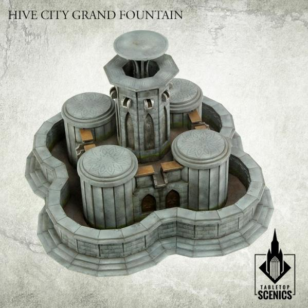 Kromlech Tabletop Scenics: Hive City Fountain