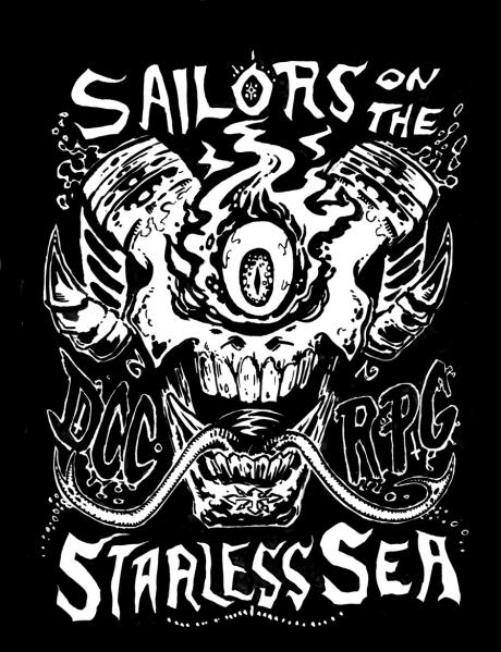 Dungeon Crawl Classics RPG: (Adventure) #67: Sailors on the Starless Sea, Foil Collector's Ed. (HC)